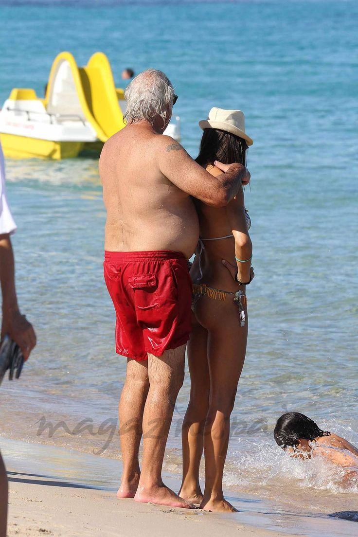 Flavio Briatore y Elisabetta