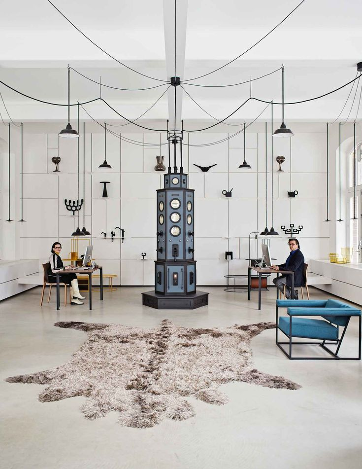 The smoking-hot showroom, store and studio by Dutch designer Roderick Vos is full of awesome products and extreme moments of beauty at every corner.