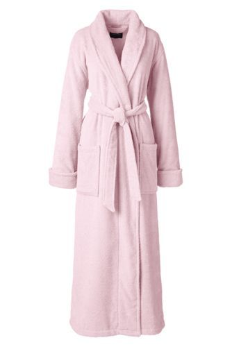 White, petite if you were going to order for me! Women's Turkish Terry Robe from Lands' End