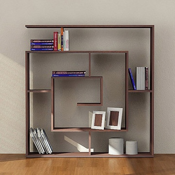 Labirent Book Shelves Wenge, now featured on Fab.