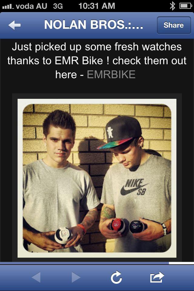 New ambassadors The Nolan Bros! http://Instagram.com/p/hM5RUGKTAa/