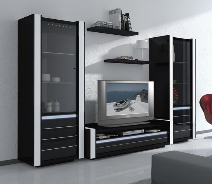 Smartly Furniture Wall Units Tv Along With Living Stylish Modern