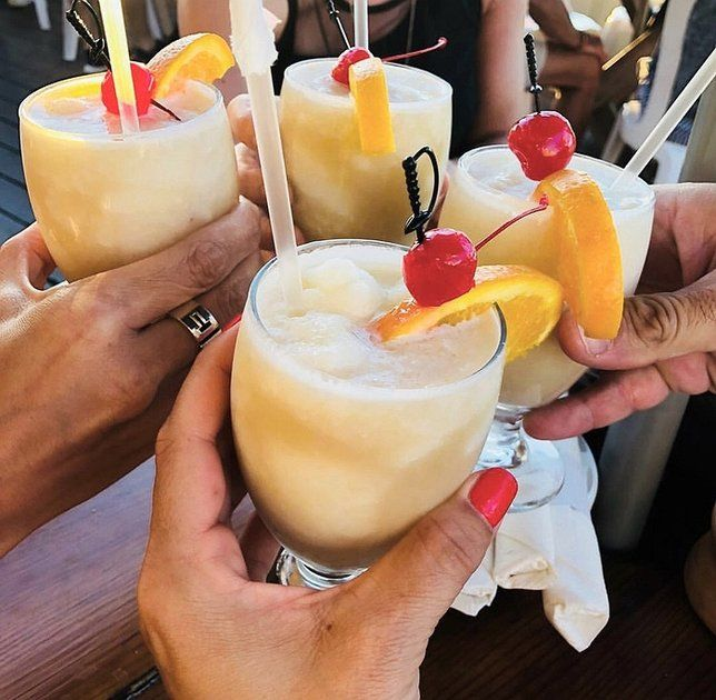 How To Make Rocket Fuel The Best Frozen Cocktail On Long Island In 2020 Rocket Fuel Recipe Frozen Cocktails Rocket Fuel