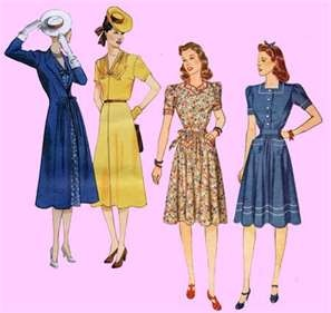 1930's reproduction vintage clothing
