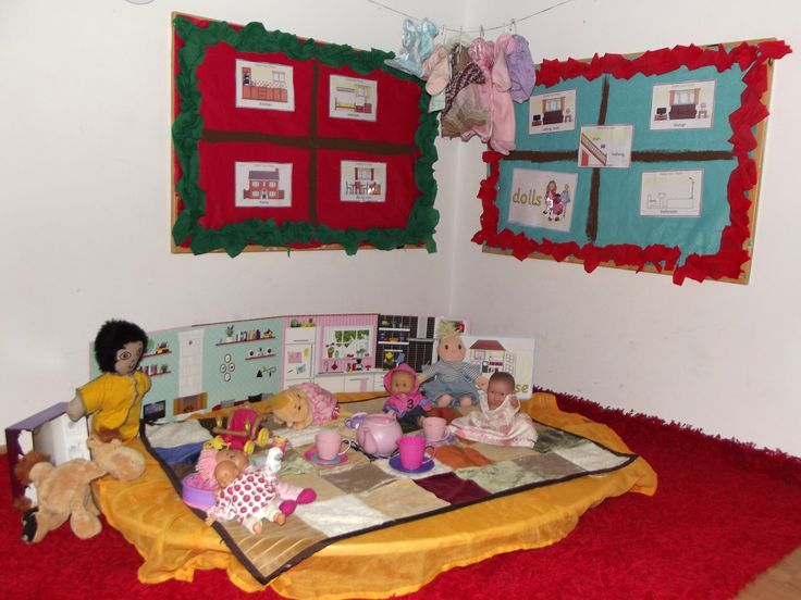 Doll House Early Years area @ Acorns Nursery Bucharest