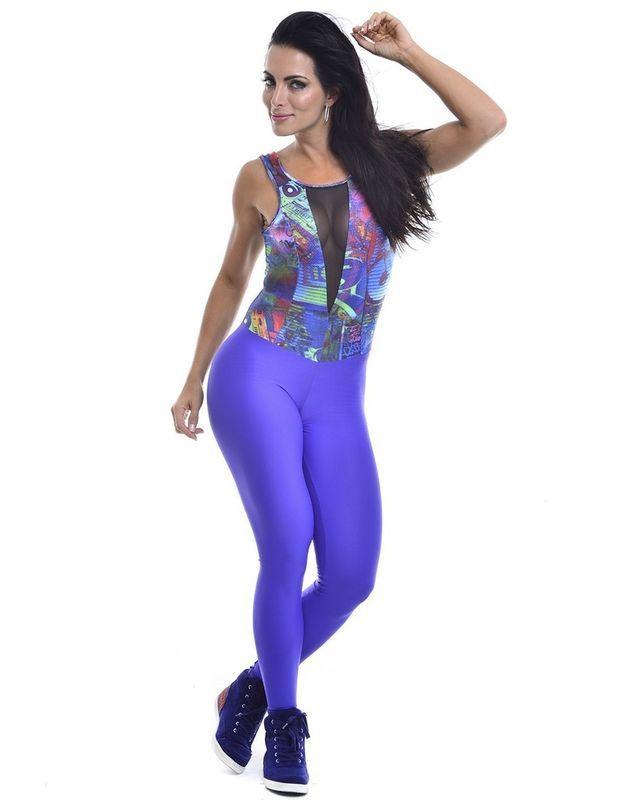 Macacão 101 Olimpia Vestem - LudFit | Moda Fitness | Roupa para ginástica