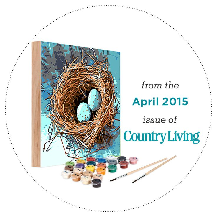 Country living kit april 2015 easy 123 art create it for Easy 123 art com country living