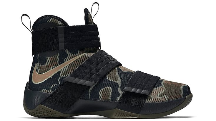 Official Images And Release Date For The Nike LeBron Zoom Soldier 10 Camo