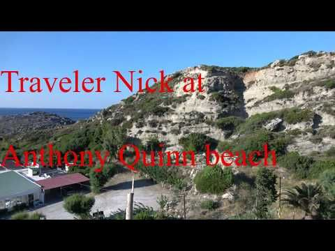 Traveler Nick: Anthony Quinn beach rhodes Greece 4k Anthony Quinn...