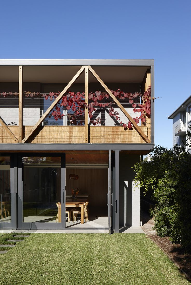 Gallery Of Hawthorn House by AM Architecture | Located in Melbourne, Victoria, Australia | Photographed by Diana Snape