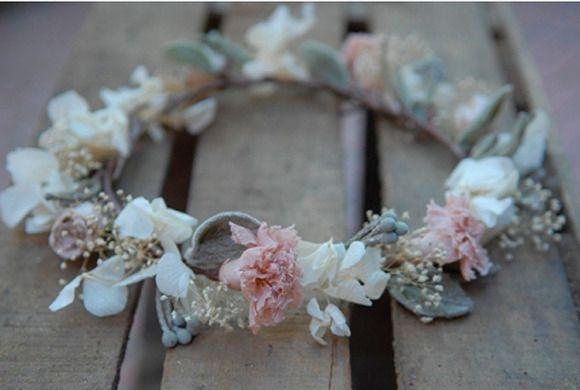 Coronas de flores niñas, tocados para niñas , diademas para niñas…