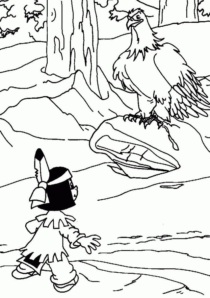 yakari 6 ausmalbilder   kids printable coloring pages
