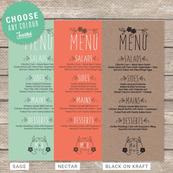 Best Gra Menu Images On   Restaurant Menu Design