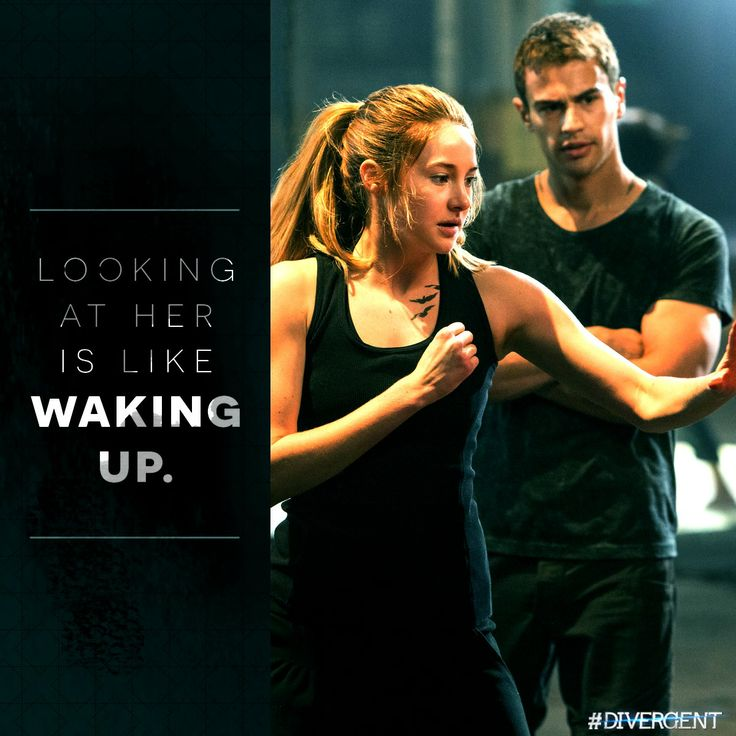 Who makes you feel alive? #Divergent
