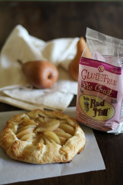 GF Almond Pear Galette | Bob's Red Mill