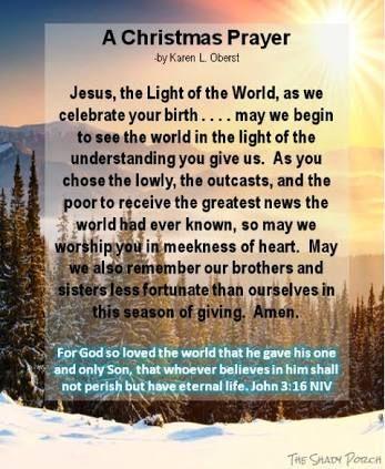 Image result for christmas eve blessing prayer