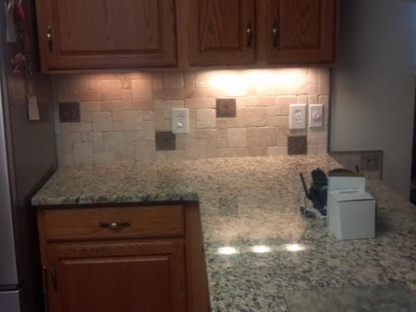 Photo of Gray Kitchen project in Murphy, NC by Phil Amos Flooring