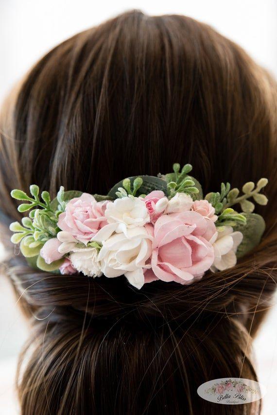 Floral Girl/'s Hair Clip