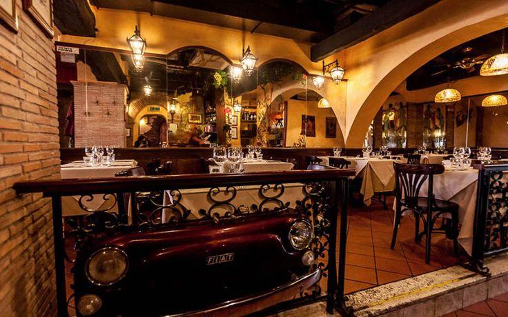 The restaurant «La Scala restaurant in Trastevere - La Scala restaurant in Trastevere