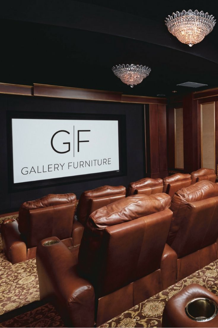 50+ best Home Theater / Game Room images by Gallery Furniture on ...
