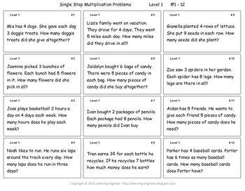 Worksheets Mathematical Story About  Addition,subtraction,multiplication And Division 70 best images about math problem solving on pinterest 5th grade multiplication word problems or division for solving