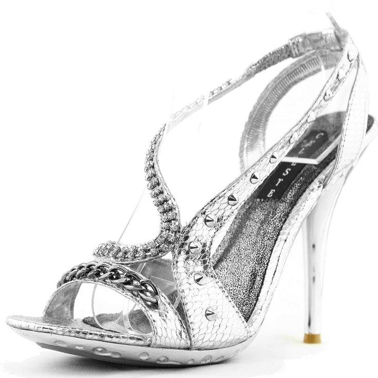 Evening dress heels 4 inches