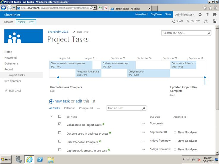 14 best images about SharePoint on Pinterest Portal, UX\/UI - task list sample