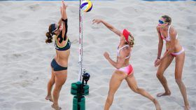Sarah Pavan and Heather Bansleysaid goodbye to the Rio 2016 beach volleyball tournament with a fifth place finish. In a...