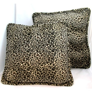Animal printed living room pillows $1 SORRY SOLD ... we sell more HOME DECORS and DECORATIONS at http://www.TropicalFeel.com: Decoration, Living Room, Animal Prints
