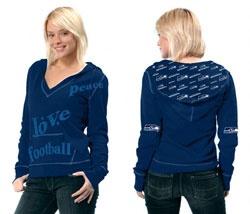 Seattle Seahawks Women's Deep V-Neck Fleece Hoodie Pullover - by Alyssa Milano $44.99 http://www.fansedge.com/Seattle-Seahawks-Womens-Deep-V-Neck-Fleece-Hoodie-Pullover---by-Alyssa-Milano-_-163351124_PD.html?social=pinterest_pfid61-00505
