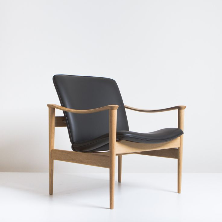 The 711 is very popular due to its Nordic aesthetic making it adaptable to modern architecture. Perfect for leisure or business this chair remains a timeless Norwegian Design icon. Kayser was also a highly skilled craftsman with respect in the traditions of Danish furniture design. The chair won first prize in the Industry Council for Furniture and Furnishing Industry Chair Competition. Contact for colour options. Frame: American Oak (Walnut option) Finishes: Natural Water Based Lacquer or…