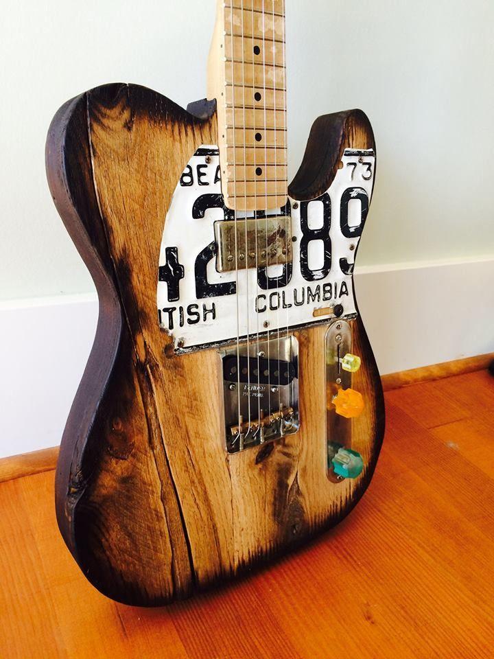 Cruzcaster custom guitars by doug schuetze custom