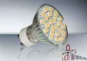 LED Strahler GU10 24 SMD LEDs, warmweiß