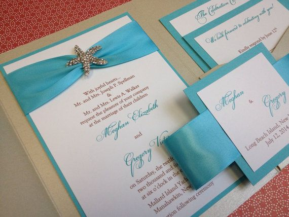 17 Best ideas about Beach Invitations – Handmade Beach Wedding Invitations