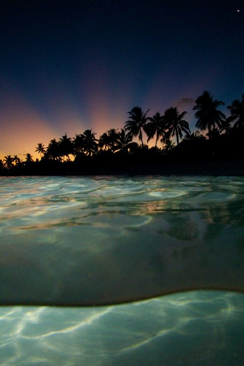 ponderation:  Tetiaroa Sunset by TMK Tahiti