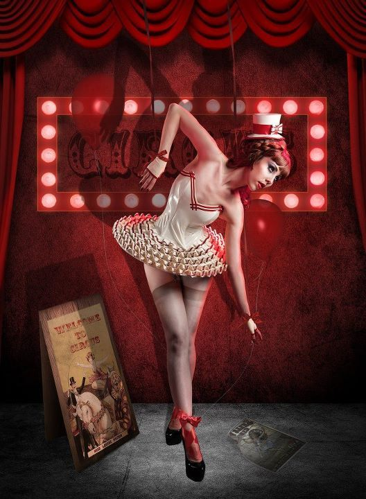 Circus:  #Circus performer, by Fairytales photography.