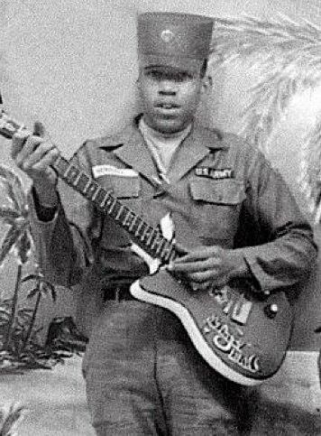 This Young Man In The Army Uniform Is Jimi Hendrix And It