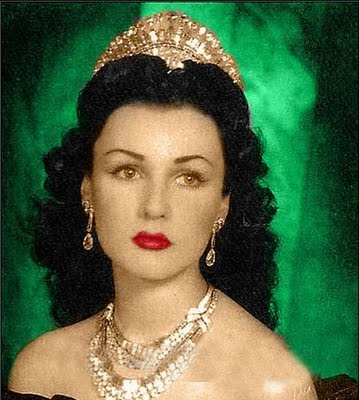 Princess Fawzia Fuad of Egypt is an Egyptian Princess who became Queen of Iran