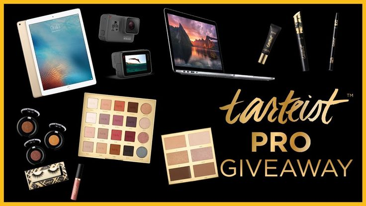 We are so thankful for your love and support and wanted to show you that we truly appreciate you by hosting this HUGE tarteist PRO GIVEAWAY! Click the link to enter! #tartecosmetics #giveaway