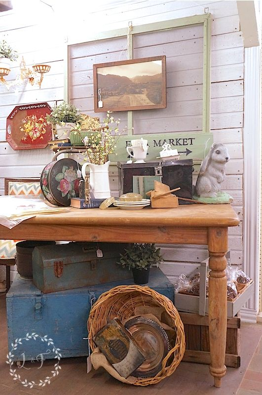 It All Started with the Antique Booth | http://www.lostandfounddecor.com/it-all-started-with-the-antique-booth/