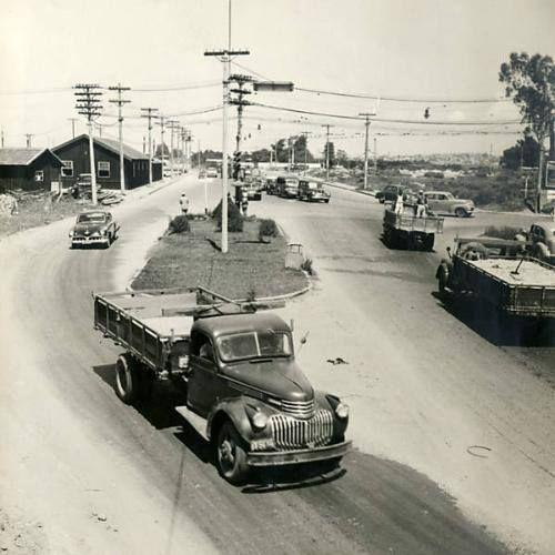 1954 - Ponte das Bandeiras.