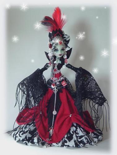 Custom Monster High Queen of Spades by Cindy | eBay