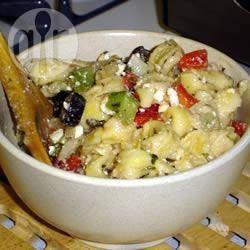 Photo de recette : Salade de tortellinis au fromage
