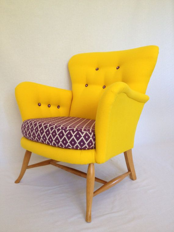 Vintage/Retro MidCentury Rare Ercol Tub Chair in by BBbespoke