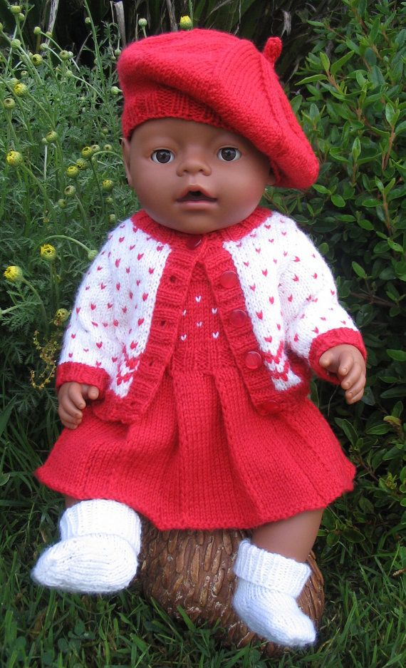 Emmy Doll Knitting Pattern : Morgan PDF Knitting Pattern for Doll Clothes by ...