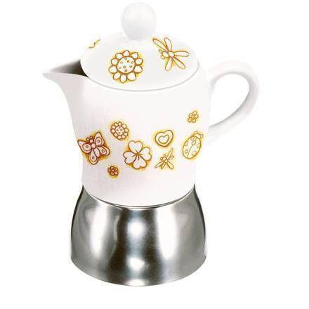 THUN Caffe` al Volo »ESPRESSO COFFEE POT CREMALATTE«