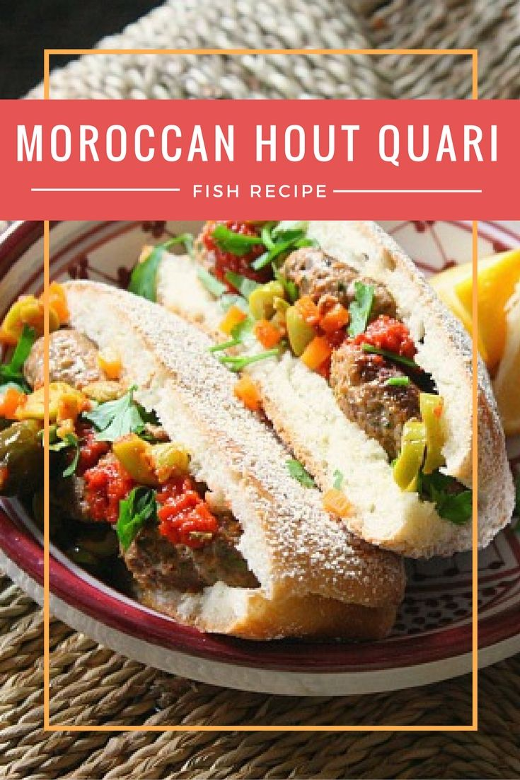 When people think of Moroccan food this fish sandwich is not something that comes to mind. It's why we so enjoy stopping at a local shop that sells these grilled sardine sandwiches during our food tour. Make these Hout Quari Sandwiches at home with this recipe!