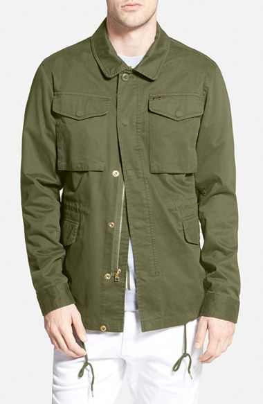Men's Obey 'Iggy' M-65 Field Jacket