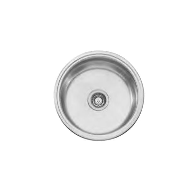 Solitaire Single Round Bowl No Tap Hole