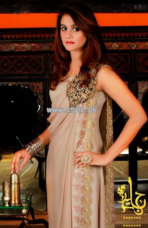 Jannat Nazir Party Wear Collection 2013 For Girls 004
